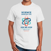 Science Saved My Life - dark on light - Gildan T-Shirt