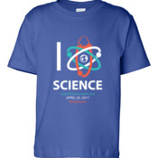 I <3 SCIENCE - Cotton Toddler T-Shirt